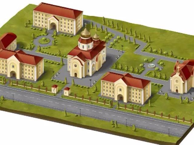 Храмовый комплекс в Любимовке